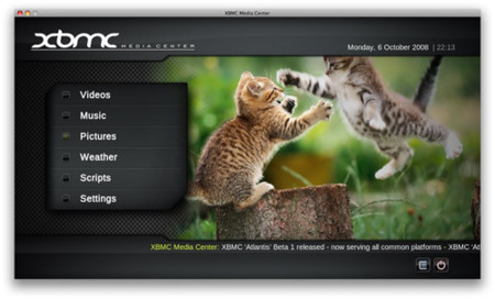 XBMC Atlantis: Convierte tu Mac en todo un media center