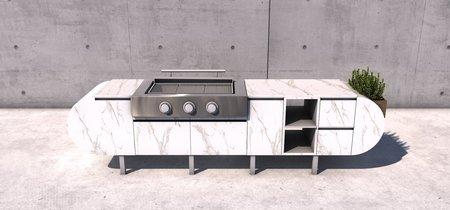 En primavera nos llevamos la cocina al jardín con ASA-D2 by Daniel Germani