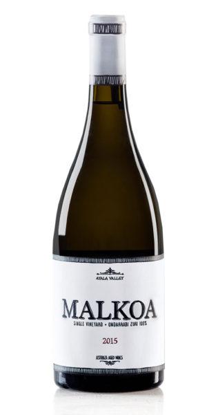 Vino blanco Malkoa de Astobiza Txakolí de Álava