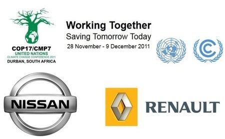 La COP17 se moverá en Durban en eléctricos Renault-Nissan