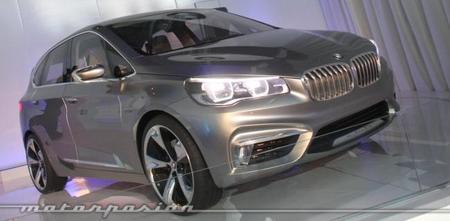 BMW Concept Active Tourer, presentación estática en Madrid