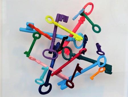 llaves colores