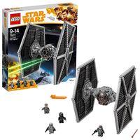 Con el set Lego Star Wars Caza TIE imperial podemos adelantarnos al estreno de la peli de Han Solo. Cuesta 68,39 euros en Amazon