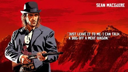 Red Dead Redemption 2 Sean Macguire