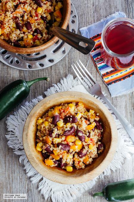 Menus Completos Recetas Faciles Que Cocinar Hoy Receta Facil Quinoa