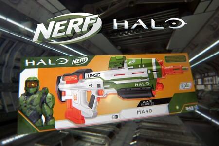 Juguete Nerf de 'Halo' con precio más bajo histórico en Amazon México: incluye código con contenido exclusivo para 'Halo Infinite'