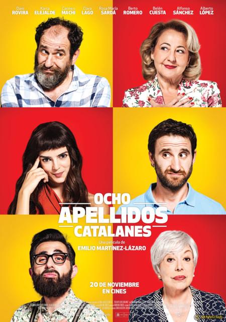 Cartel de Ocho Apellidos Catalanes