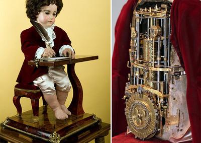 """""""The Writer"""": un impresionante autómata programable de más de 6.000 piezas"""