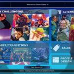 Así es la store de Street Fighter V rediseñada por un fan
