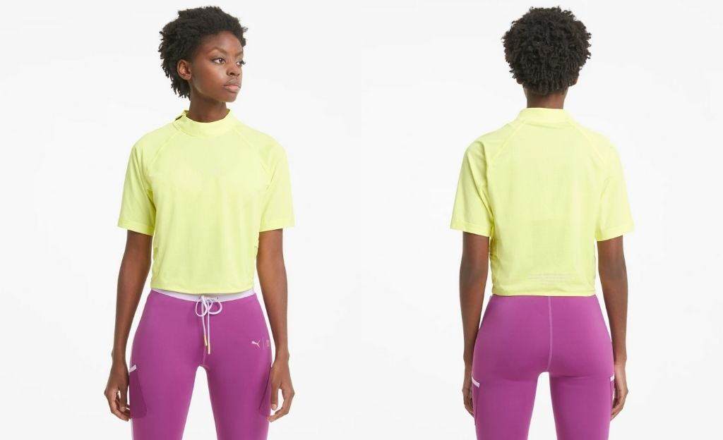 Camiseta de entrenamiento PUMA x FIRST MILE Mock para mujer