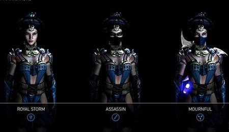 Kitana nos presume sus movimientos en el nuevo trailer de Mortal Kombat X