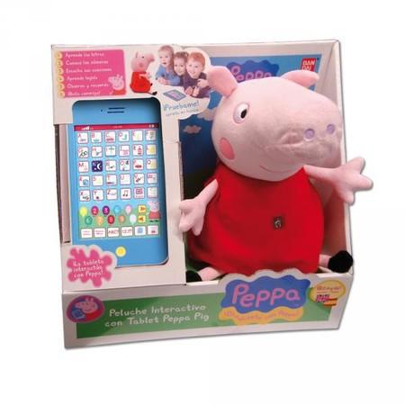 Peluche Interactivo Con Tablet Peppa Pig 3