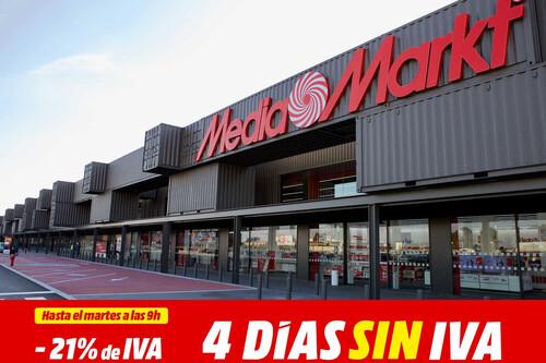 Ahórrate el IVA en televisores, móviles o portátiles: vuelven los días sin IVA a MediaMarkt este fin de semana