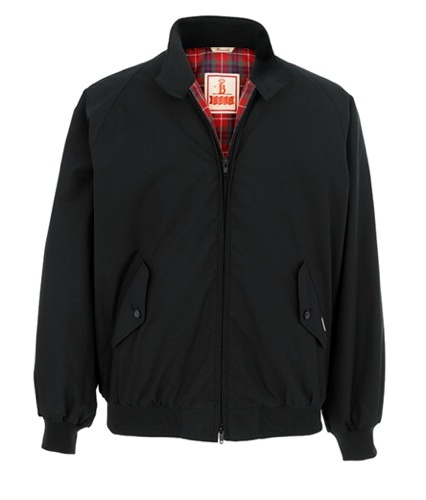 Baracuta G9, la Harrington original en azul navy
