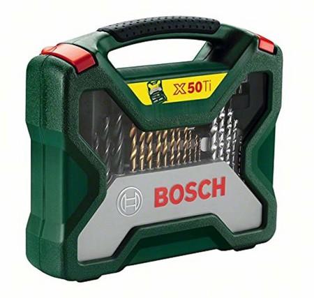 El set de bricolaje Bosch   X-line de 50 piezas con brocas y puntas para taladro está rebajado a 16,90 euros en Amazon