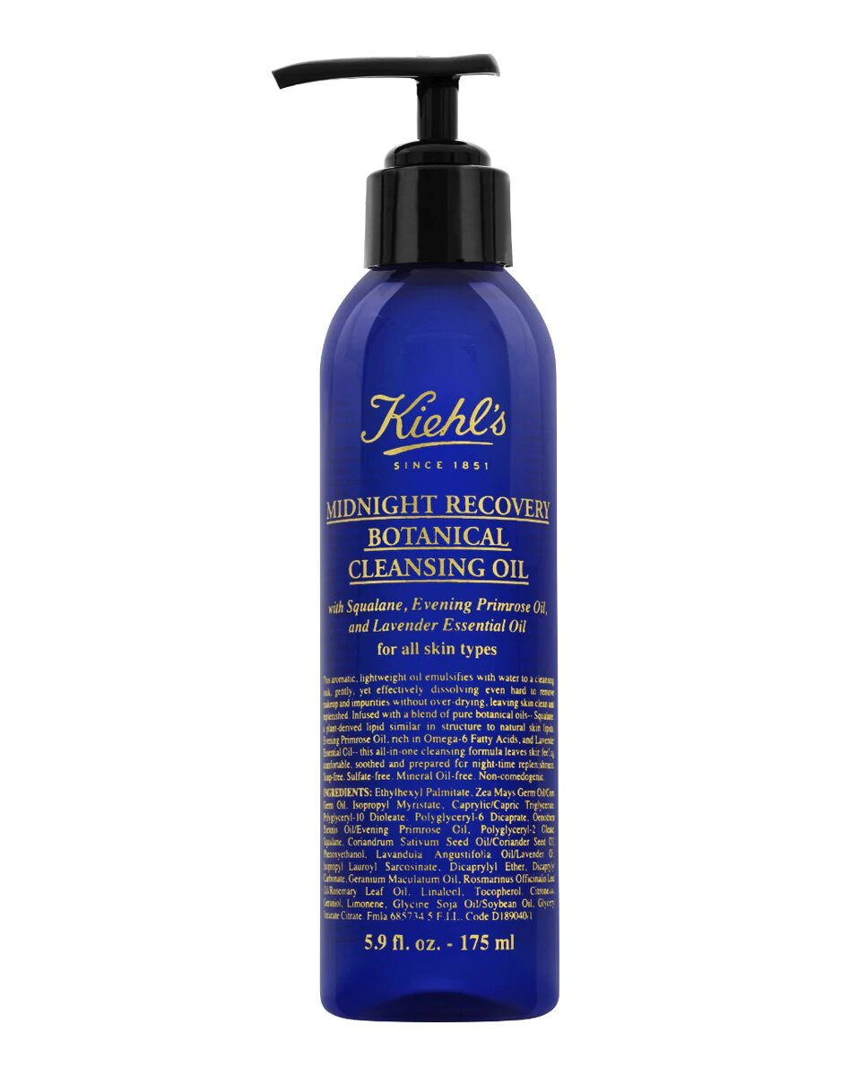Aceite Limpiador Midnight Recovery Botanical Cleansing Oil Kiehl's