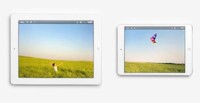 Genial anuncio mostrando la aplicación de fotos en el iPad e iPad mini