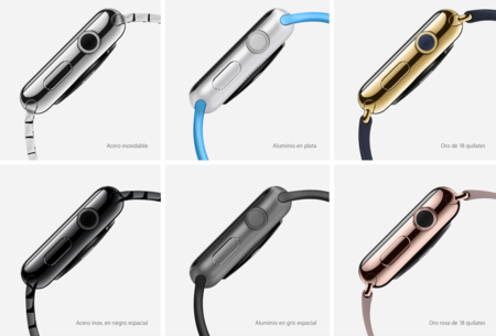 Modelos Apple Watch