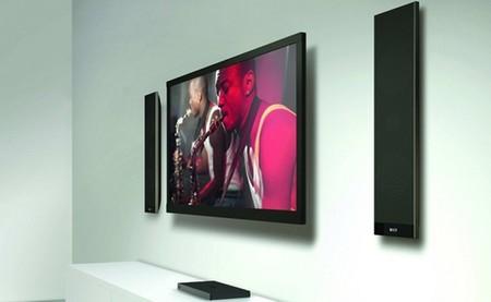 KEF V300, altavoces ultradelgados para acompañar a nuestros smart TV