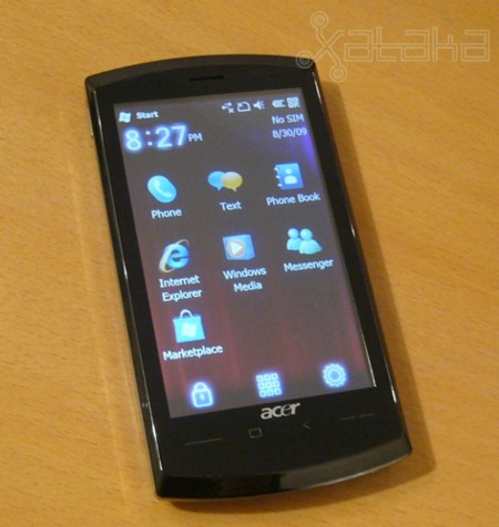 Acer neoTouch, lo probamos
