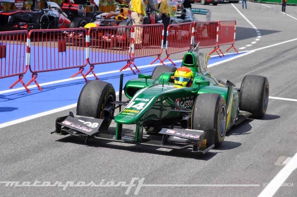 Foto de GP2 2013 Barcelona (90/138)