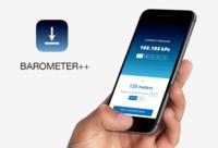 Barometer++, si tienes curiosidad por probar el barómetro de los nuevos iPhone ahora podrás