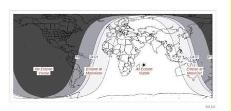 ¿Dónde se verá el 'minieclipse' de Luna de hoy?