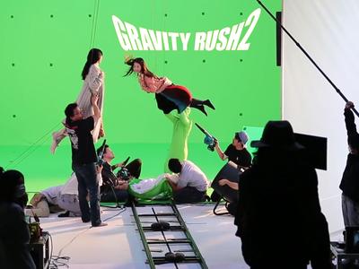 Así fue el detrás de cámaras del impresionante tráiler live-action de Gravity Rush 2