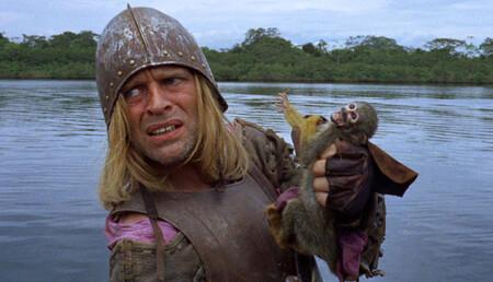 Klaus Kinski en Aguirre