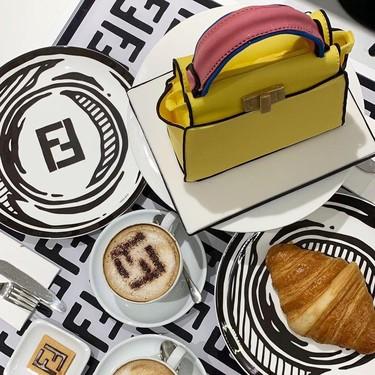 Este verano Fendi no solo se viste, también se come en la cafetería que acaba de abrir en Londres