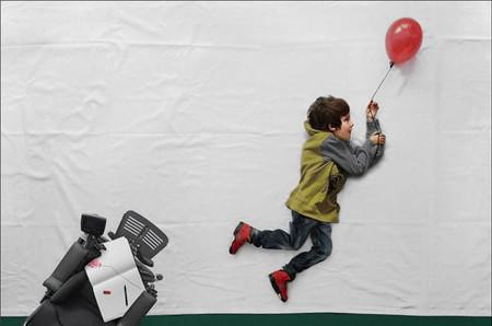 La historia de 'The little Prince': las fotografías que han permitido a Luka imaginar una vida mejor