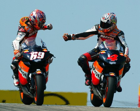 Nicky Hayden Alex Barros Motogp 2007