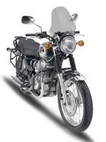 GIVI mantiene el toque de los años 60 en la Kawasaki W800