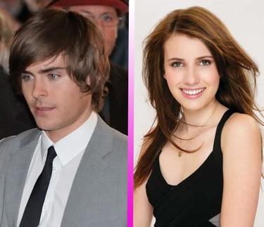 Zac Efron y Emma Roberts... ¿hay posibilidad de tener tomate entre estos dos tórtolos?