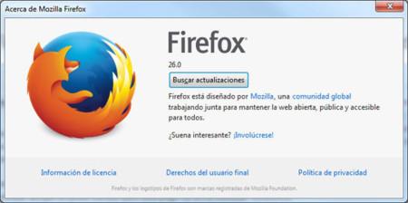 Firefox 26, más seguridad sacrificando comodidad