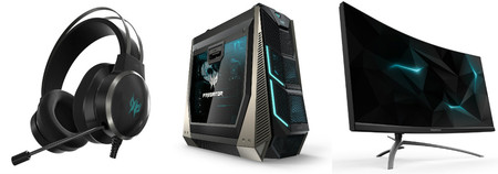 Acer calienta motores para la IFA ampliando su gama de productos para gamer de la línea Predator