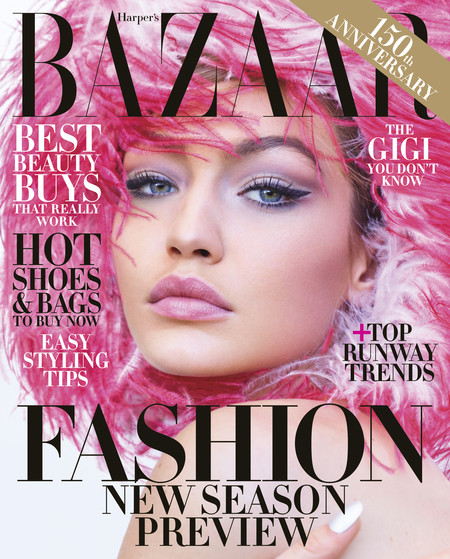 Harpers Bazaar Junejuly Cover