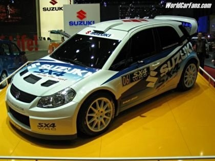 Suzuki a por el título del WRC en 2009