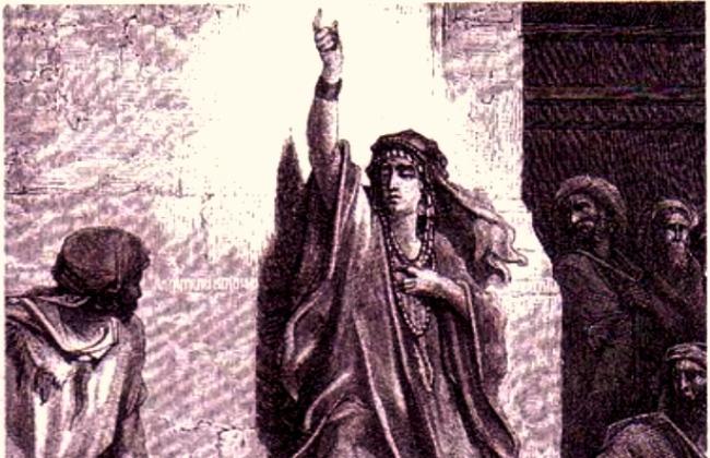 Deborah. Gustave Dore