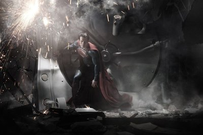 'Man of Steel', primera imagen de Henry Cavill como Superman