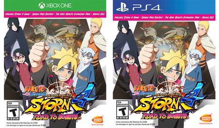 Naruto Shippuden Ultimate Ninja Storm 4 Road To Boruto Portada