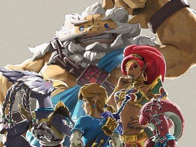 Estas serán las funciones de los amiibo de Daruk, Mipha, Revali y Urbosa en The Legend of Zelda: Breath of the Wild