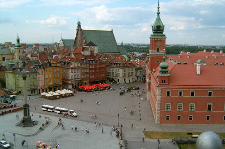 Warsaw Royal Castle Square