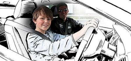 Mercedes propone una academia de conducir para los adolescentes