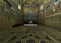 La capilla sixtina, 360º en alta resolución desde tu sofá