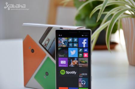 Lumia 930 con paquete