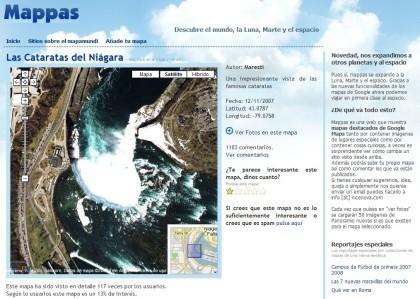 Mappas: compartiendo lugares desde el mapa