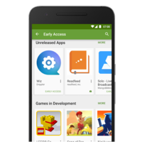Llega Google Play Early Access, apps en beta abierta y mejor visibilizadas