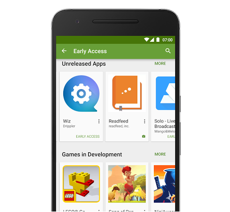 Google Play Beta 2