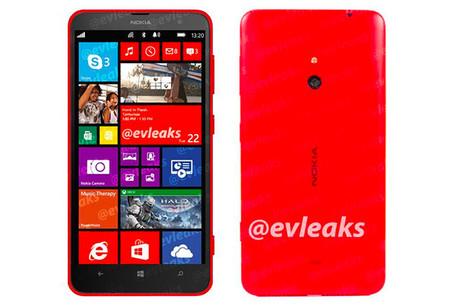 Nokia Lumia 1320, este es el otro phablet que verá la luz el día de mañana